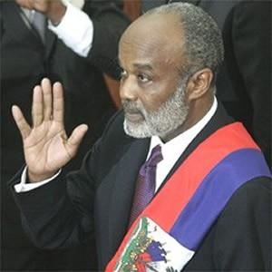 Rene Preval Sworn in