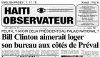 Bill Clinton Haiti Palais National